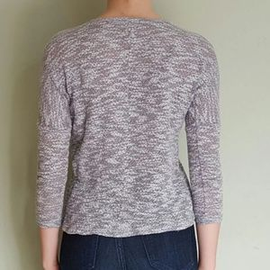Nordstrom Tops - Marled Gray Crop Top XS